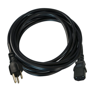 Ballast Power Cord 15' 120V 14GA