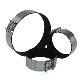 Quiet Ducting Clamps - 10""