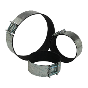 Quiet Ducting Clamps - 12""