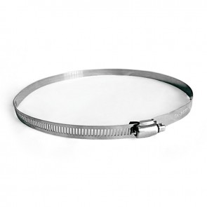 """Stainless Ducting Clamps - 10"""""""